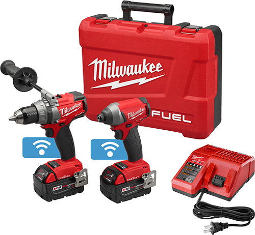 Impact Wrench & Flashlight Kit M18 Fuel 3/8 Milwaukee  2795-22CTK
