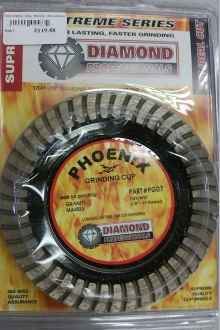 """Pheonix Grinding Wheel 7"""" Diamond"""