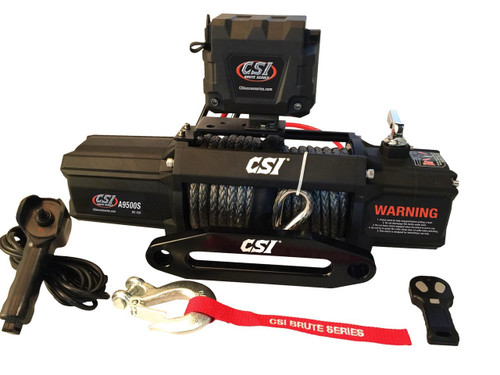 CSI Brute 9500LB SYNTHICROPE WINCH