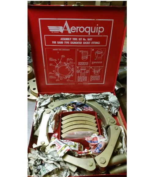 "1607 Aeroquip Assembly Tool Kit for Segment Hose Fittings (5"" & 7"")"