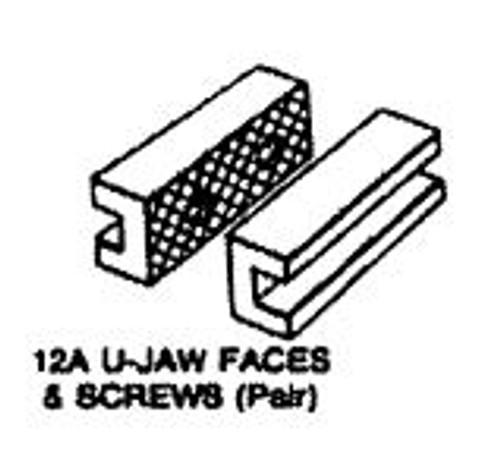 Vise Jaws U-Shape for 8'' Morgan (set) 1108057