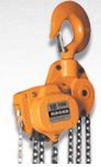 Hoist Chainfall 1.5 ton x 10' lift Magna CH15010