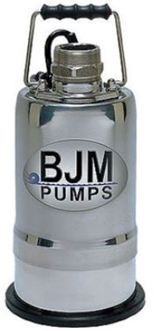 Mop Up Pump BJM R400D 115v 1/2 hp 2in Submersible