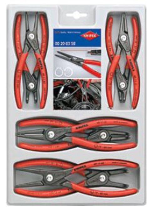 Snap Ring Plier Set 8pc Knipex 0020-04SB