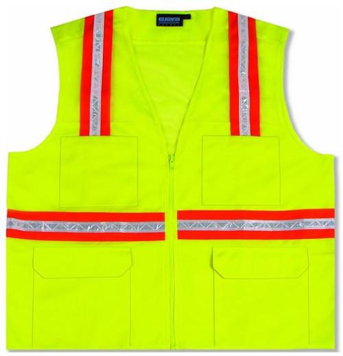 Surveyor Vest Lime Non-ANSI ERB S410