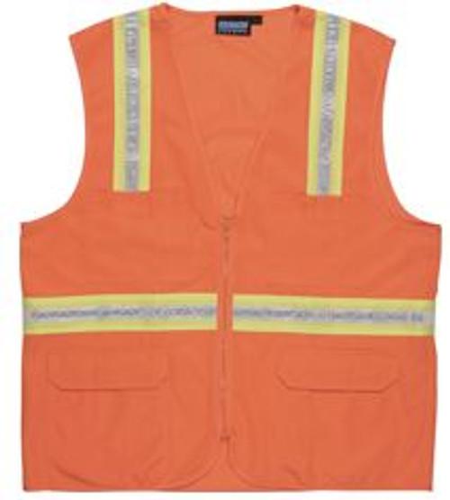 Surveyor Vest Orange Non-ANSI ERB S103