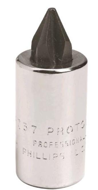 Proto 4738 Socket Bit 1/4 DR #2 Phillips