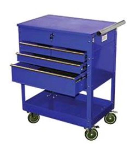 Service Cart 4 Drawer Blue ATD-7047