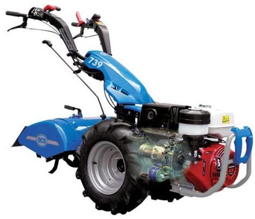 BCS Tractor 739 honda recoil