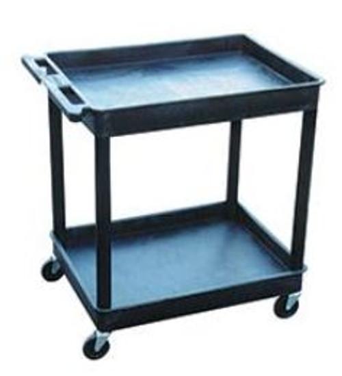 Luxor 2 Shelf Tub Cart 32W x 24D x 37-1/2H