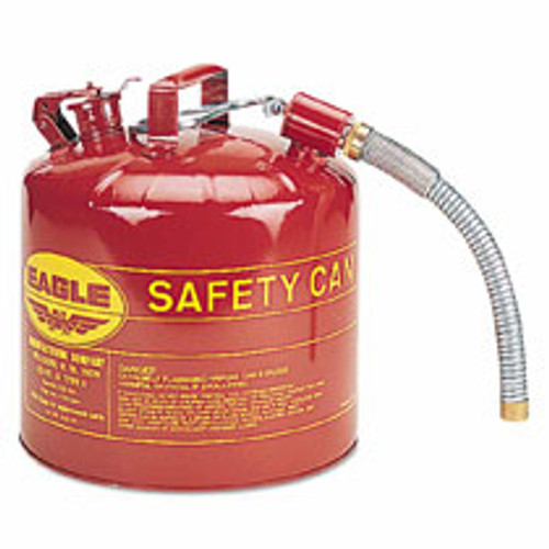 Red Type II 5 Gallon Safety Can 12 Flex Spout