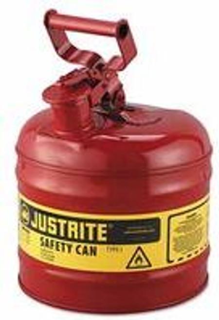 Gas Can 2 Gal. Metal Justrite 7120100