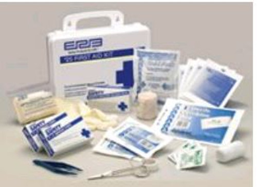 First Aid kit 25 Unit Plastic ERB 17132