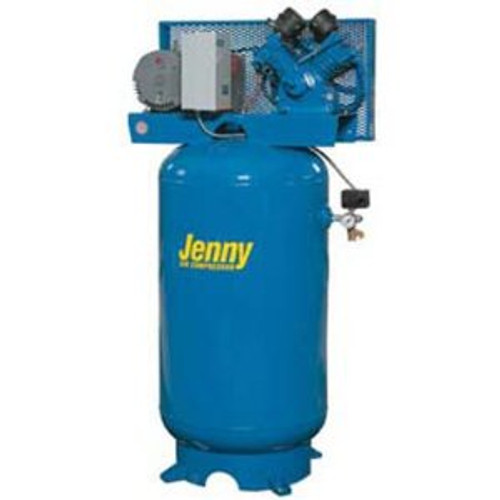 Jenny Air Compressor 60 Gal 5hp Tank Mounted