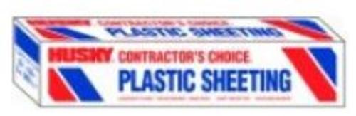 Sheeting 20x200 2mil Clear Plastic Husky