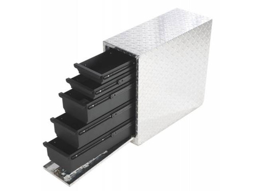 Dee Zee Side Bed Single Tool Box with Drawers 95DA