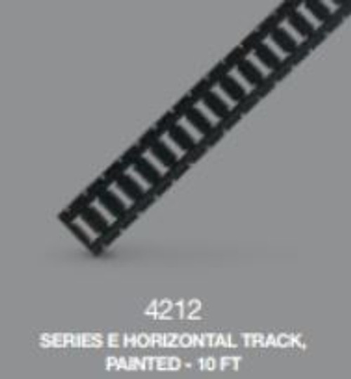 E Track Horizontal 10ft Interior Van Painted