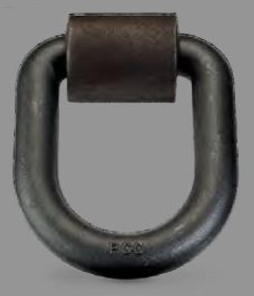 D Ring 1/4'' Bolt-on w/Clip DR025