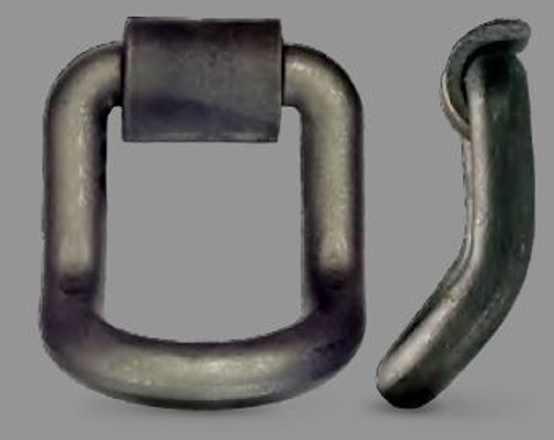 """D Ring 1"""" Bent Weld-on Dee (brk 15600lbs) DR100LB"""