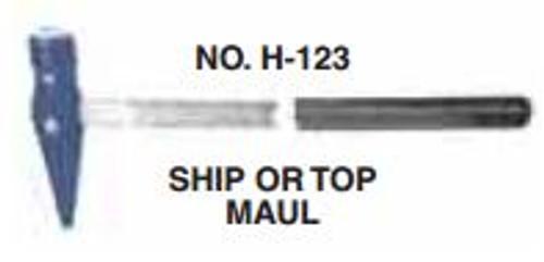 Maul 5 lb Warwood Topping Maul 12311