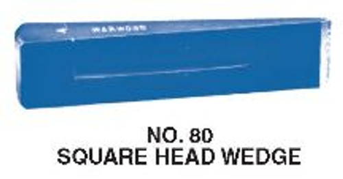 Wedge 4 lb Square Head Warwood #80