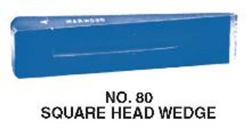 Wedge 6 lb Warwood Square Head #80