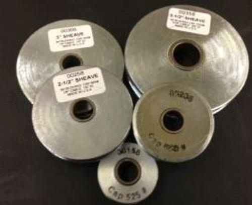 Sheave 3-1/2'' 1550Lb SWL 3/8 Max Wire Block Div 00358-3/8