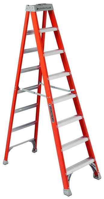 Ladder 8' Step FG Louisville FS1508