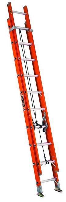 Ladder 32' Extension Fiberglass Type 1A 300lb Louisville FE3232