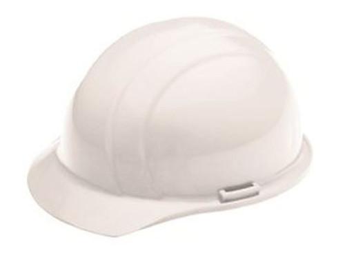 Hard Hat Ratchet Std White Americana 4 PT ERB 19361