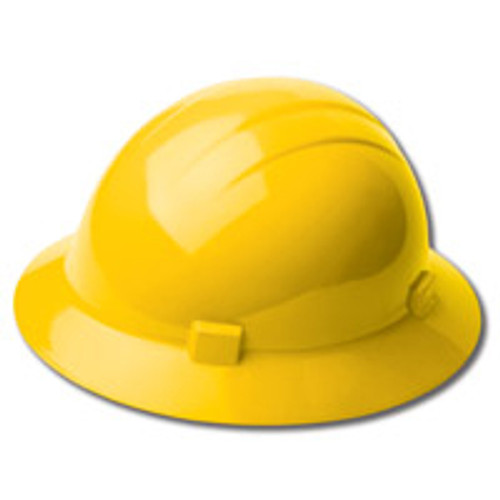 Hard Hat Full Brim Yellow Americana ERB 19222