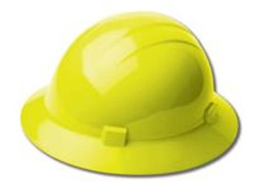 Hard Hat Full Brim Hi-V Yellow Americana ERB 19228