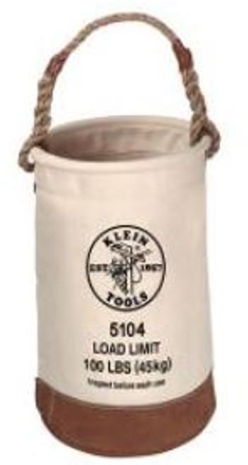 Leather-Bottom Bucket Klein 5104
