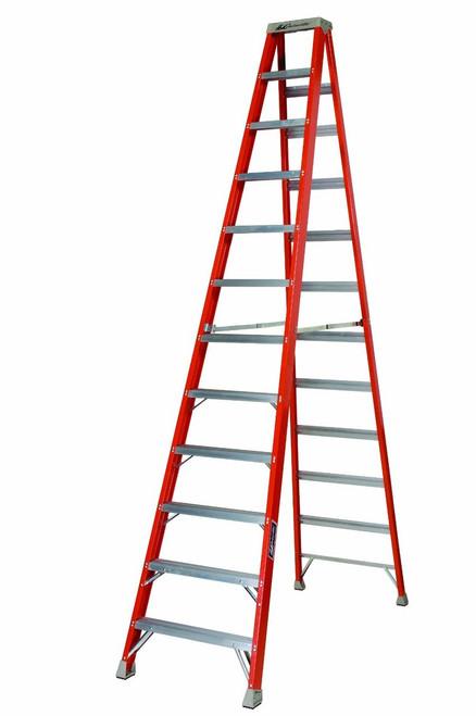 Ladder 12' Step FG Louisville FS1512