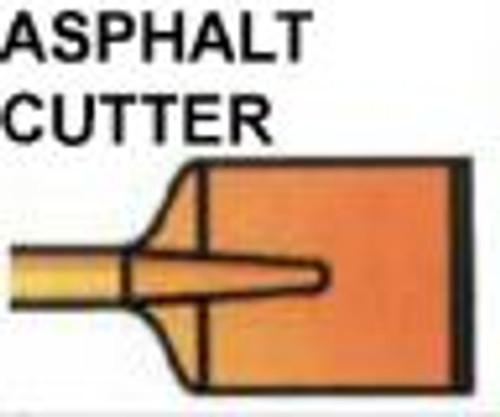 Asphalt Cutter Hex Shank 1-1/8x6x12'' Brunner & Lay B30500