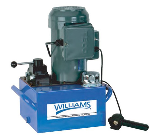 Electric Pump 0.5HP 1Gal Oil for Hydraulic Tools Williams 5E05H1G