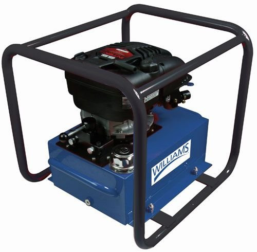 Gas Engine Pump 6.5 HP 5 Gal 4-Way Valves Williams 5G65H5G