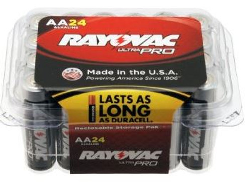 Battery AA Rayovac 24 Pack
