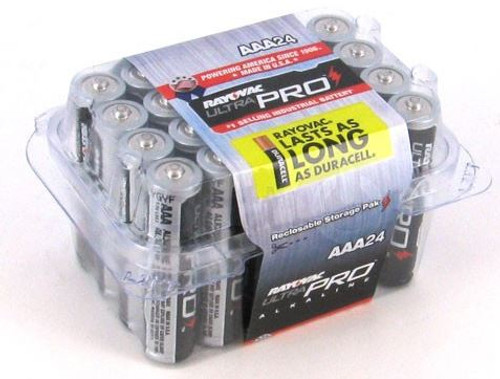 Battery AAA Rayovac Ultra Pro 24 Pack
