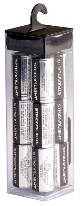 Battery CR123A 12pk Streamlight 85177