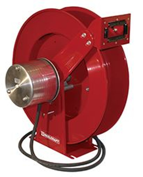 Welding Reel Cable 75ft Spring Driven Reelcraft