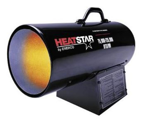 Heater Forced Air 75000 - 125000 BTU Propane