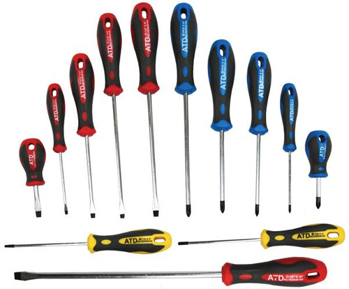Screwdriver Set 13pc Professional Grade ATD-6255