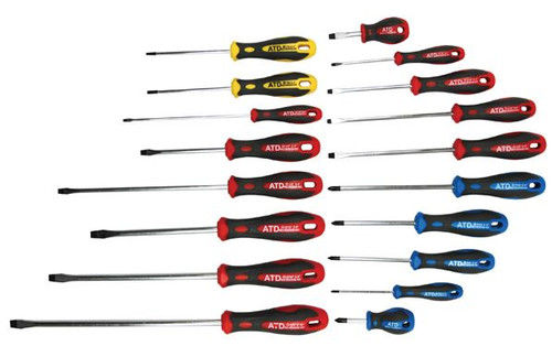 Screwdriver Set 18pc Professional Grade ATD-6256