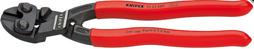 Mini Bolt Cutter 8 Angled Lever Action Knipex 7121-200