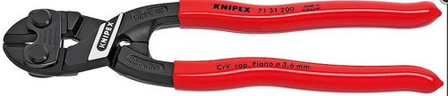 Mini Bolt Cutter 8 Angled w/notch Knipex 7131-200