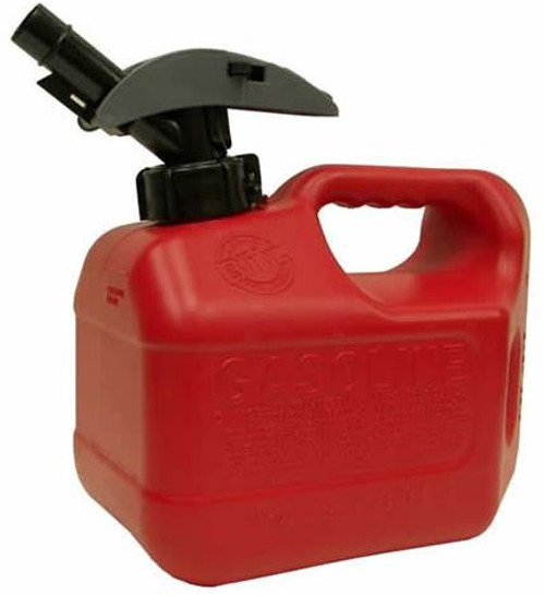 Gas Can 1 Gal. Plastic