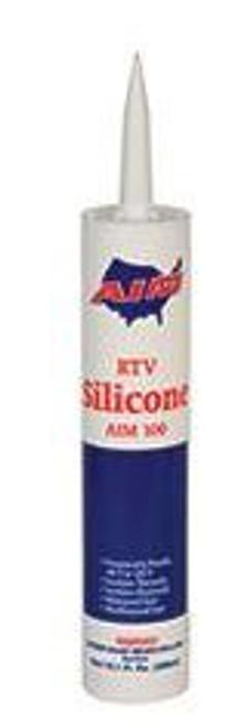 RTV Silicone White AIM 100-01