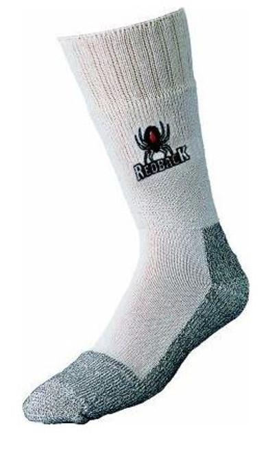Boot Sock White LG 9-15 Redback