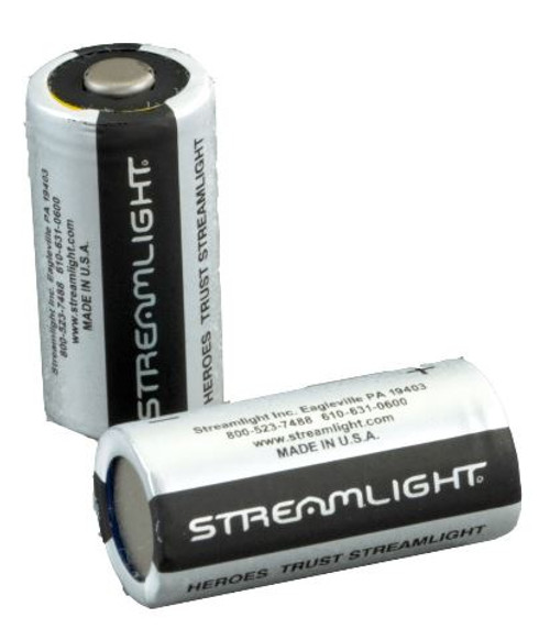 Battery CR123A 6pk Streamlight 85180
